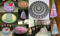 Designer Mandala Table Cloth And Round
