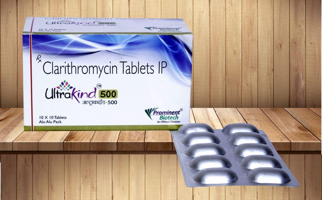 Clarithromycin 250 mg & 500 mg