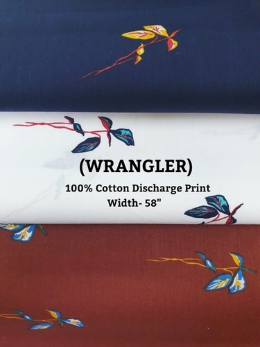 Cotton Discharge Print WRANGLER