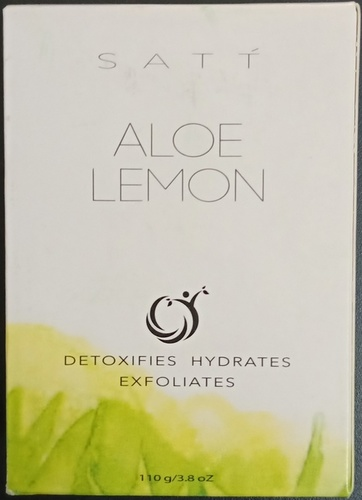 Aloe Lemon soap
