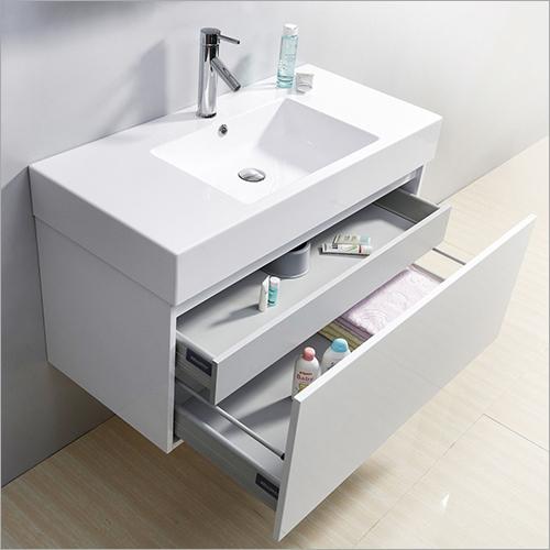 White Bathroom Vanity At Range, Vanity For Bathroom
