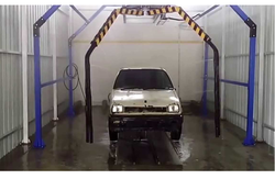 CAR UNDERBODY CLEANING MACHINE