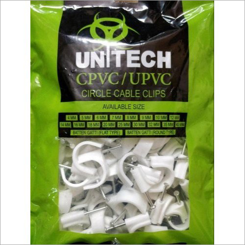 20MM CPVC Circle Nail Cable Clip