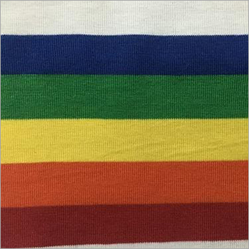 PC Stripe Knitted Fabric