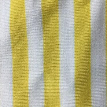 PC Cotton Stripe Knitted Fabric