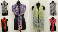 Printed Shiffon Scarves