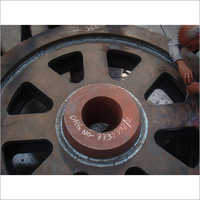 EXPERTISE WELDING JOB OF LARGE SIZE GEAR WHEEL DIS-SIMILAR MATERIAL