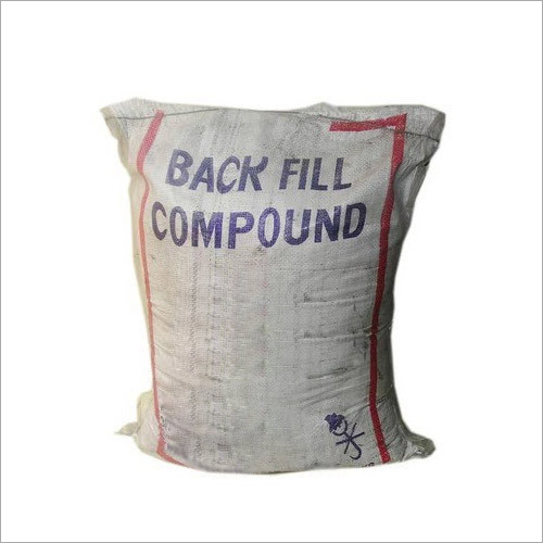 Normal Back Fill Compound