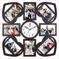 550x550 mm Clock Photo Frame