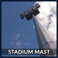 16 Mtr Stadium Mast Pole