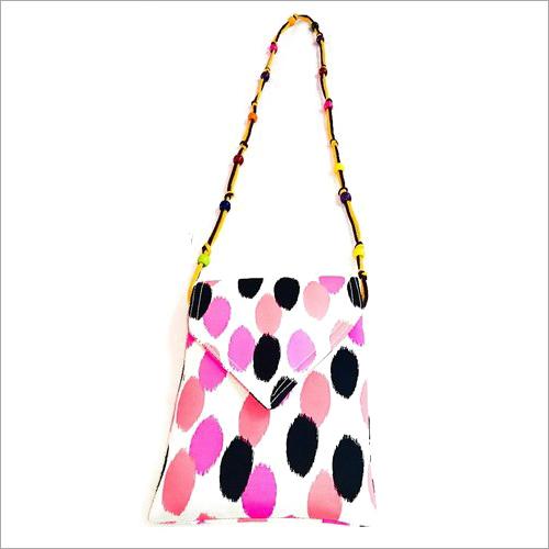 Ladies  Beaded Mobile Sling Bag