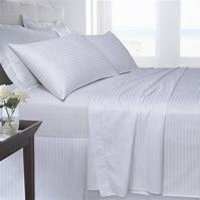 plain white quilt