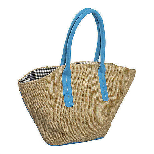 Designer Plain Jute Bag
