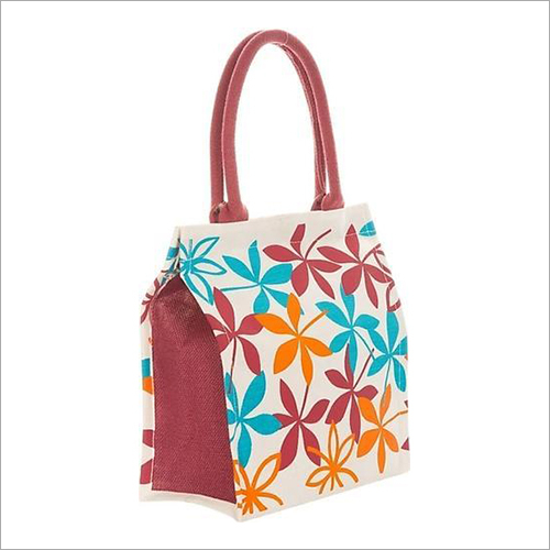 Fancy Printed Jute Bag