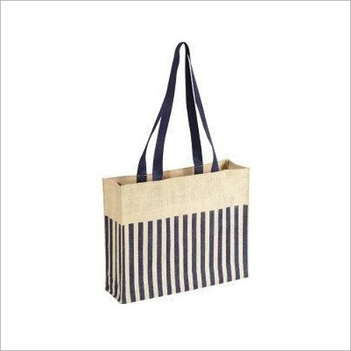 Square Printed Jute Bag