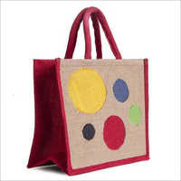 Wedding Gift Printed Jute Bag