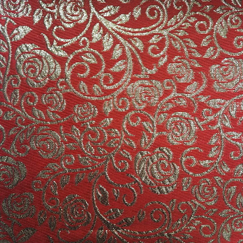 Rose Jacquard Fabric