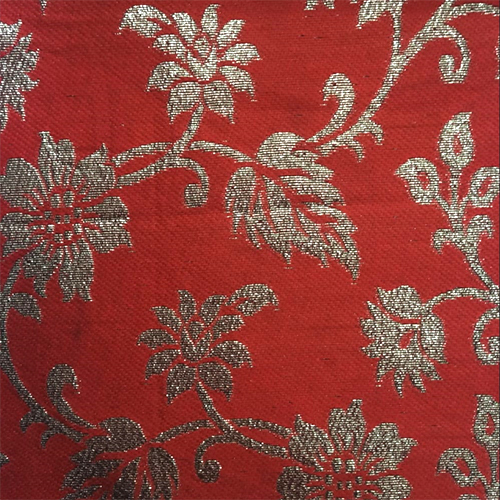 Paan Patta Jacquard Fabric