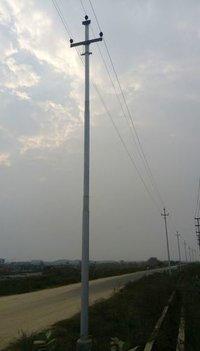 11 Mtr. Gi Swagged Tubular Pole 410-Sp-55 (As Per Is2713)