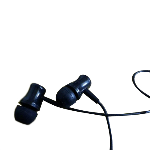 Black Mobile Earphone