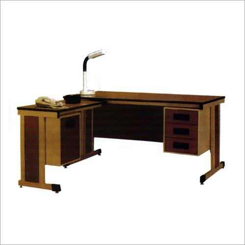 L shaped Office Steel Table