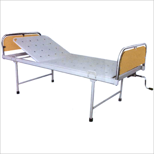 SS Panels Hospital Semi Fowler Bed
