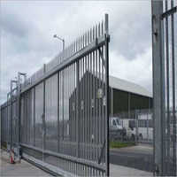 Industrial Iron Gates