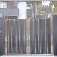 Stainless Steel Entrance Door