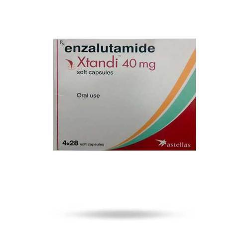 Xtandi 40mg soft Capsule (Enzalutamide (40mg) - Astellas Pharma Inc)