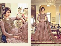Swagat embroidery Heavy Net gown with Embroidery work for women