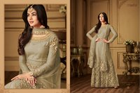 maisha embroidery work new best gown for women