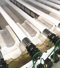 Fused Silica Ceramic Roller For Glass Tempering Furnace