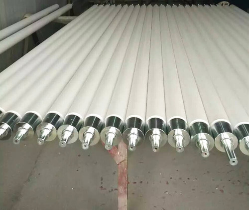 Fused Silica Ceramic Roller Used In Glass Tempering Furnace