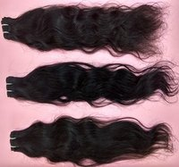 Temple Natural Remy Human Hair