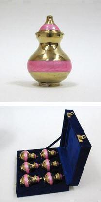 Brass Keepsake Urn Set