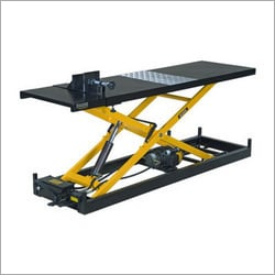 Hydraulic Two Wheeler Ramp