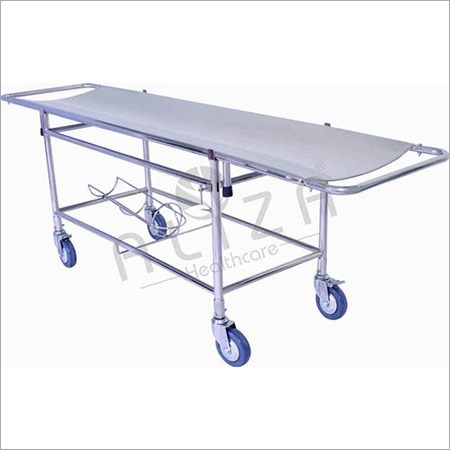 Stretcher On Trolley - Fully SS