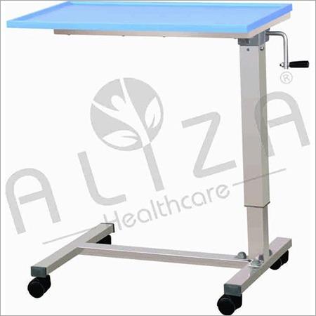Adjustable SS Bedside Table