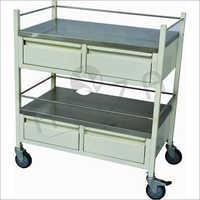 Steel Medicine Trolley