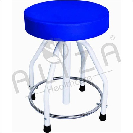 Revolving Stool Cushioned Top MS