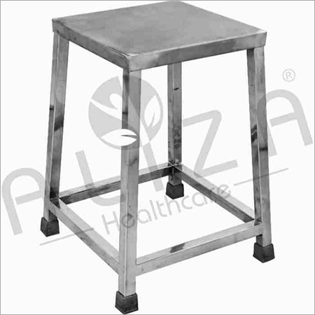 SS Bed Side Stool