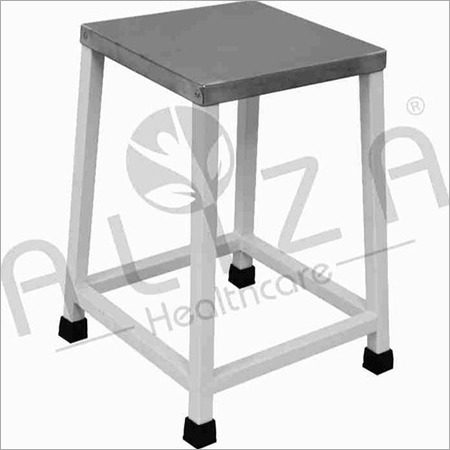 Bed Side Stool - SS Top