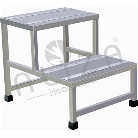 Double Foot SS Step Stool
