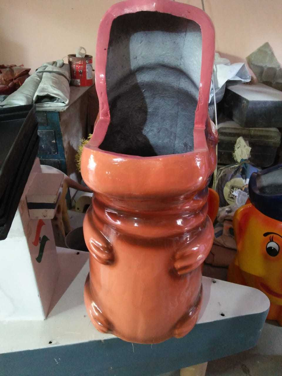 Fiberglass Decorative Waste Bins