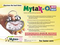 Cefixime 100 mg & 200 mg Dispersible Tablets