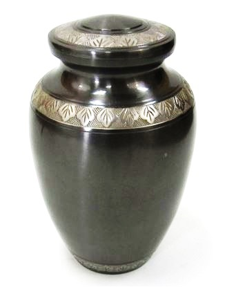 Solid Brass Cremation Urn
