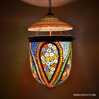 Mosaic Beautiful Handmade Glass Wall Hanging