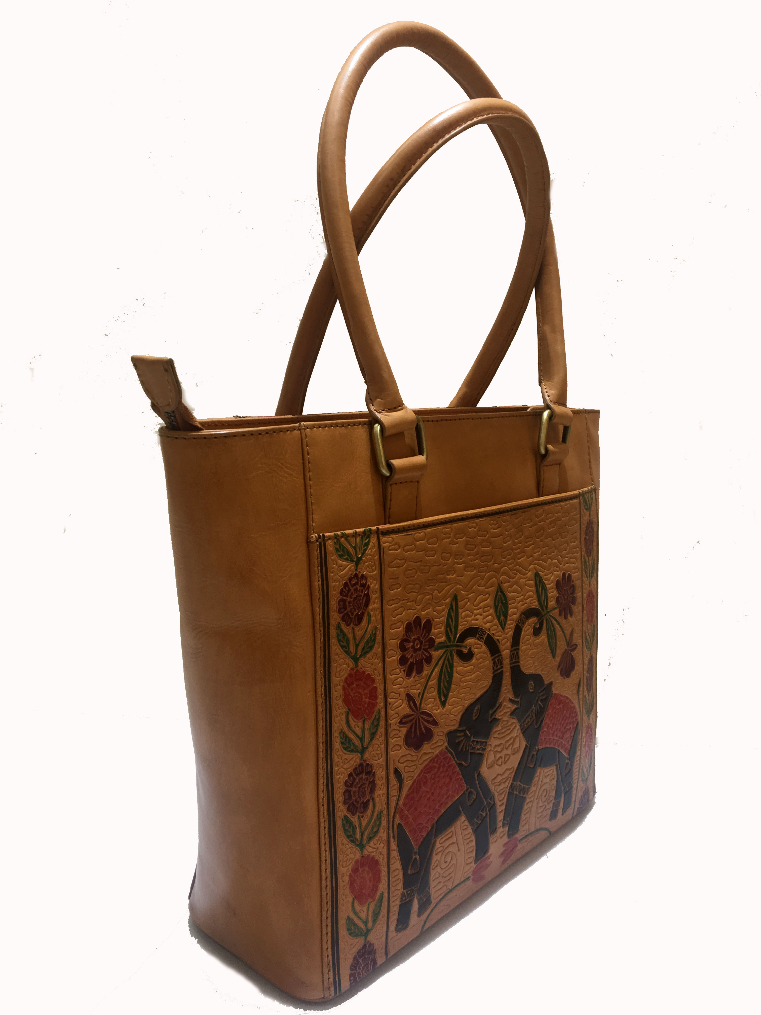 leather ladies Shanti Style Hand Bag