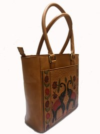 leather ladies Shanti Style Hand Bag