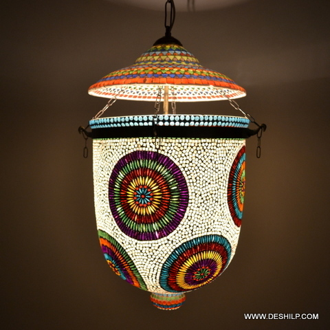 Hand Decor Glass Wall Hanging